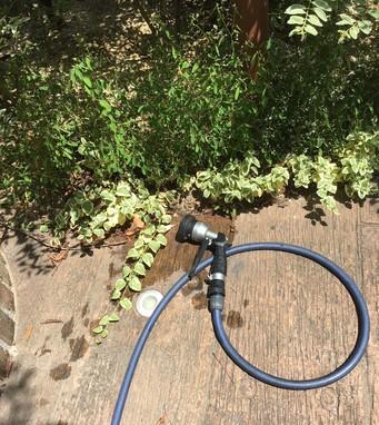 植栽*夏場の散水(花壇の水やり)