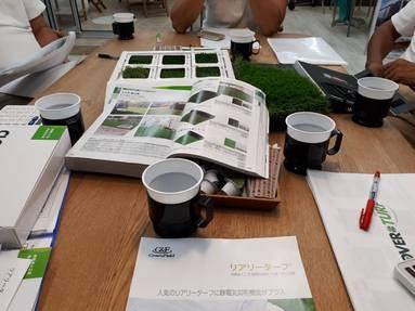 ガーデンリフォームに使う人工芝