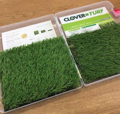 ガーデンリフォームに使う人工芝・・・その後