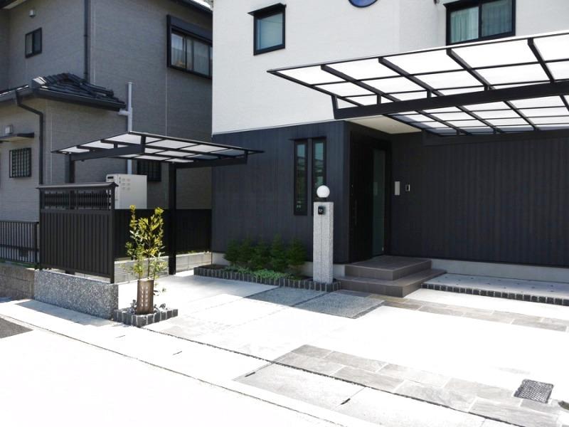 和モダンな建物にマッチしたデザイン。