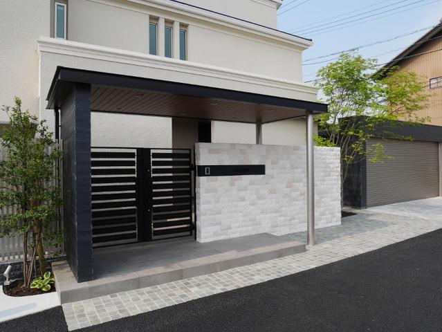 愛知県のS様邸の外構工事の施工例を実例集に追加しました。 外構・エクステリア・庭 津島市 関徳 リフォーム・デザイン・施工